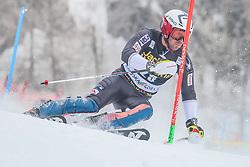 David Chodounsky (USA) during 1st run of Men's Slalom race of FIS Alpine Ski World Cup 57th Vitranc Cup 2018, on March 4, 2018 in Kranjska Gora, Slovenia. Photo by Ziga Zupan / Sportida