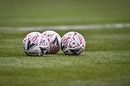 The Emirates Fa Cup match football mitre during the The FA Cup fourth round match between Portsmouth and Queens Park Rangers at Fratton Park, Portsmouth, England on 26 January 2019.