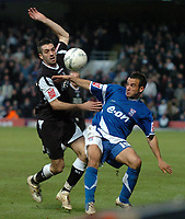 Photo: Ashley Pickering.<br /> Ipswich Town v Swansea City. The FA Cup. 27/01/2007.<br /> Ipswich's Sito Castro (R) and Swansea's Tom Williams