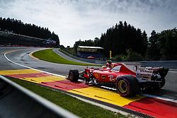 August 25, 2017 - Spa-Francorchamps, Belgium - Motorsports: FIA Formula One World Championship 2017, Grand Prix of Belgium, .#7 Kimi Raikkonen (FIN, Scuderia Ferrari) (Credit Image: © Hoch Zwei via ZUMA Wire)