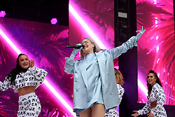 Anne-Marie on stage during Capital's Summertime Ball. The world's biggest stars perform live for 80,000 Capital listeners at Wembley Stadium at the UK's biggest summer party. PRESS ASSOCIATION PHOTO. Picture date: Saturday June 8, 2019. Photo credit should read: Isabel Infantes/PA Wire