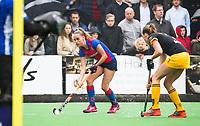 BILTHOVEN  - Hockey -  1e wedstrijd Play Offs dames. SCHC-Den Bosch (0-1). Famke Richardson (SCHC)   COPYRIGHT KOEN SUYK