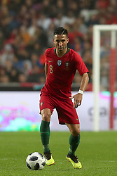 June 7, 2018 - Lisbon, Portugal - Portugal's midfielder Joao Moutinho in action during the FIFA World Cup Russia 2018 preparation football match Portugal vs Algeria, at the Luz stadium in Lisbon, Portugal, on June 7, 2018. (Portugal won 3-0) (Credit Image: © Pedro Fiuza/NurPhoto via ZUMA Press)