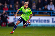 Cardiff City defender Joe Bennett (3) during The FA Cup 3rd round match between Gillingham and Cardiff City at the MEMS Priestfield Stadium, Gillingham, England on 5 January 2019. Photo by Martin Cole.