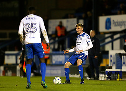 Taylor Moore of Bury on loan from Bristol City - Mandatory by-line: Matt McNulty/JMP - 14/03/2017 - FOOTBALL - Gigg Lane - Bury, England - Bury v Bristol Rovers - Sky Bet League One