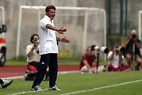 Trento 4/8/2004 Amichevole - Friendly match Fiorentina Sampdoria 3-2 <br /> <br /> Nella foto: Walter Novellino Sampdoria trainer - allenatore della Sampdoria<br /> <br /> Photo Jay / Graffiti