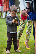 RIVER; SASKIA BOXFORD; , Cartier Queen's Cup final at Guards Polo Club, Windsor Great Park. 16 June 2013