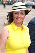 Prinsjesdag - Aankomst politici bij de Ridderzaal. Zoals ieder jaar ging Prinsjesdag ook dit keer weer gepaard met hoedjes in allerlei soorten en maten.<br /> <br /> Op de foto / On the photo: <br />  Fleur Agema