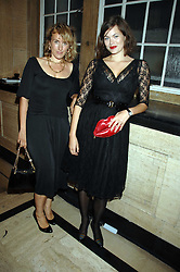 CYNTHIA RAINEY and her sister in law JASMINE GUINNESS at the M.A.C. Viva Glam party featuring a performance by Dita Von Teese of 'Lipteese' held at the Bloomsbury Ballroom, Victoria House, Bloomsbury Square, London on 27th June 2007.<br /><br />NON EXCLUSIVE - WORLD RIGHTS