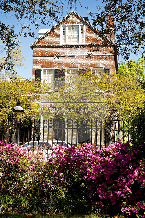 Historic home on Chalmers Street in Charleston, SC.