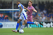 Callum Camps chases the ball during the EFL Sky Bet League 1 match between Bristol Rovers and Rochdale at the Memorial Stadium, Bristol, England on 22 April 2019.