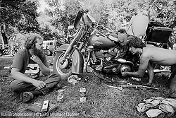 City Park Days. Mouse and Kim. Sturgis, SD. 1979<br /> <br /> Limited Edition Print from an edition of 15. Photo ©1979 Michael Lichter.