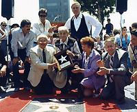1985 Yakama Cannut's Walk of Fame ceremony