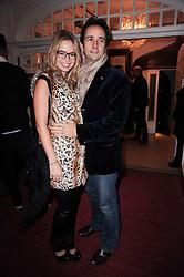 MATT & MARISSA HERMER at a screening of the short film 'Away We Stay' directed by Edoardo Ponti held at The Electric Cinema, Portobello Road, London W1 on 15th November 2010.