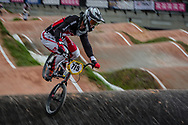 #715 (MALENFANT Gaby) CAN at the 2016 UCI BMX World Championships in Medellin, Colombia.