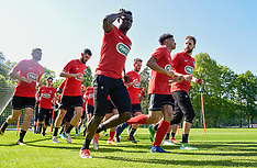Team training Les Herbiers for the Coupe de France final - 06 May 2018