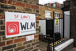 London, UK. 12th February, 2019. The Pret Foundation, a charity founded by café chain Pret a Manger, is opening a hostel at WLM St. Luke's in Kennington in partnership with West London Mission to provide assistance to the homeless and people living in poverty. It will initially accommodate 13 people for up to one year, with plans to expand to 26 by the end of the year, and will be run in conjunction with the company's Rising Stars project to offer employment in cafés to formerly homeless people. London was selected as the location because one-third of the nation's homeless population is located in the capital.