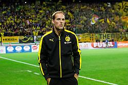 Thomas Tuchel, head coach of Borussia Dortmund during football match between WAC Wolfsberg (AUT) and  Borussia Dortmund (GER) in First leg of Third qualifying round of UEFA Europa League 2015/16, on July 30, 2015 in Wörthersee Stadion, Klagenfurt, Austria. Photo by Vid Ponikvar / Sportida