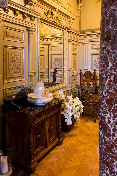 20-09-2015: Hotel Nove Lazne in Marianske Lazne (Marienbad), Tsjechië.<br /> Foto: Spa-ruimte van Edward VII