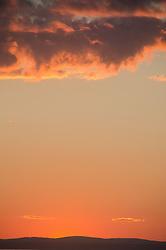 Sunset Over Castine Harbor from Kayak, Castine, Maine, US