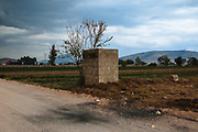 Tepeaca, Mexico – March 26, 2017: Remains of ash in the ground due to an explosion caused by the theft of gasoline in pipelines in Tepeaca, Puebla. The municipality of Tepeaca occupies the first place in fuel theft in the country; it belongs to the called Red Triangle, along with Palmar de Bravo, Amozoc, Quecholac, Acatzingo and Esperanza, all these municipalities located in the state of Puebla. Rodrigo Cruz for The New York Times