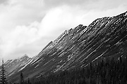The Chain Mountians on the Icefields Parkway