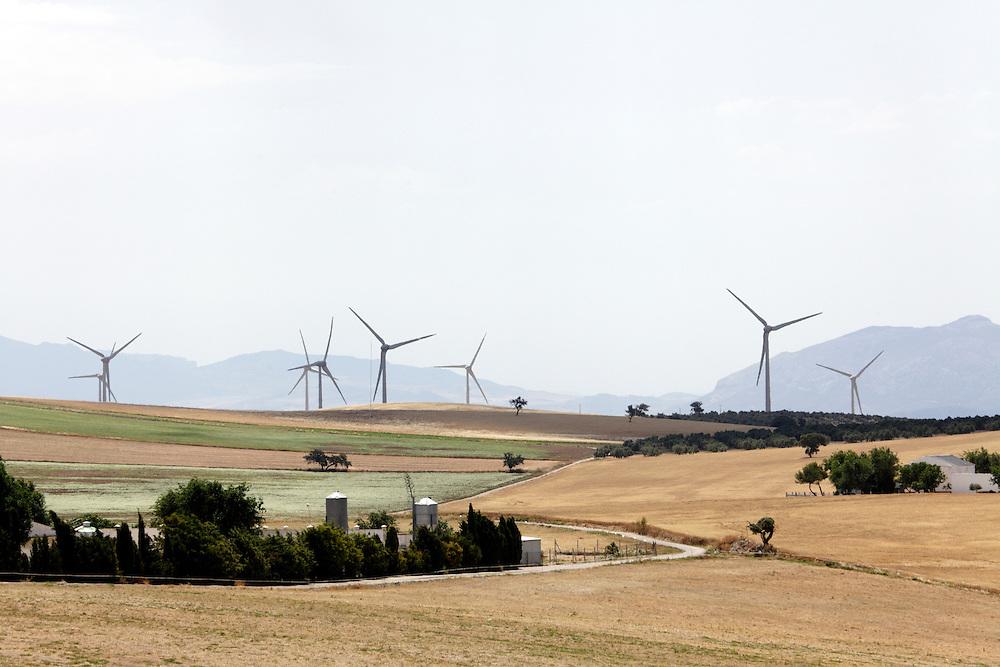 wind energy farm Andalusia Spain