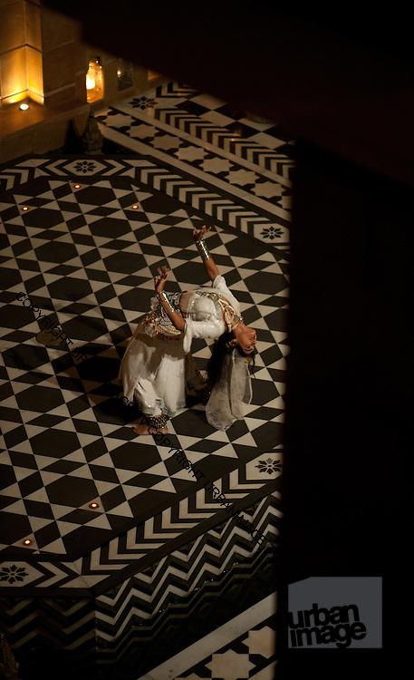 The Dancer - Rajasthan Leela Palace - Udaipur India 2011