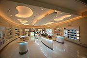 Bangkok's brand new Suvarnabhumi airport. Duty free shopping area.