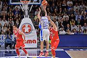 DESCRIZIONE : Beko Legabasket Serie A 2015- 2016 Playoff Quarti di Finale Gara3 Dinamo Banco di Sardegna Sassari - Grissin Bon Reggio Emilia<br /> GIOCATORE : Rok Stipcevic<br /> CATEGORIA : Tiro Tre Punti Three Point Controcampo<br /> SQUADRA : Dinamo Banco di Sardegna Sassari<br /> EVENTO : Beko Legabasket Serie A 2015-2016 Playoff<br /> GARA : Quarti di Finale Gara3 Dinamo Banco di Sardegna Sassari - Grissin Bon Reggio Emilia<br /> DATA : 11/05/2016<br /> SPORT : Pallacanestro <br /> AUTORE : Agenzia Ciamillo-Castoria/L.Canu