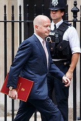 © Licensed to London News Pictures. 03/06/2014. LONDON, UK. Foreign Secretary, William Hague attending to a cabinet meeting in Downing Street on Tuesday, 3 June 2014. Photo credit: Tolga Akmen/LNP