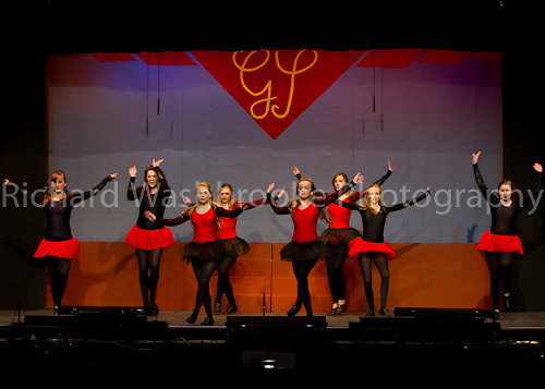 Gang Show Harpenden Dress Rehearsal  8th January 2012