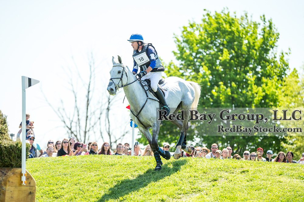 Will Faudree (USA) and Pfun during the cross-country at the 2019 Land Rover Kentucky Three-Day Event presented by MARS EQUESTRIAN in Lexington, Kentucky