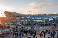 General view outside BT Murrayfield Stadium, Edinburgh, Scotland before the Autumn Test match between Scotland and South Africa on 17 November 2018.