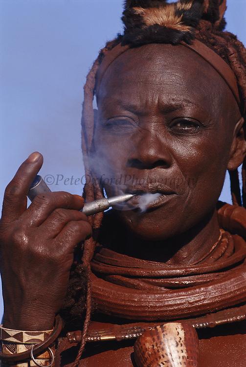 Himba Woman<br />Kaokoland, NAMIBIA