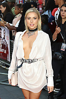 Gabby Allen, The Intent 2: The Come Up - World Premiere, Leicester Square, London, UK, 19 September 2018, Photo by Richard Goldschmidt