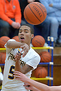 Firelands at North Ridgeville boys varsity basketball on January 3, 2015. Images © David Richard and may not be copied, posted, published or printed without permission.