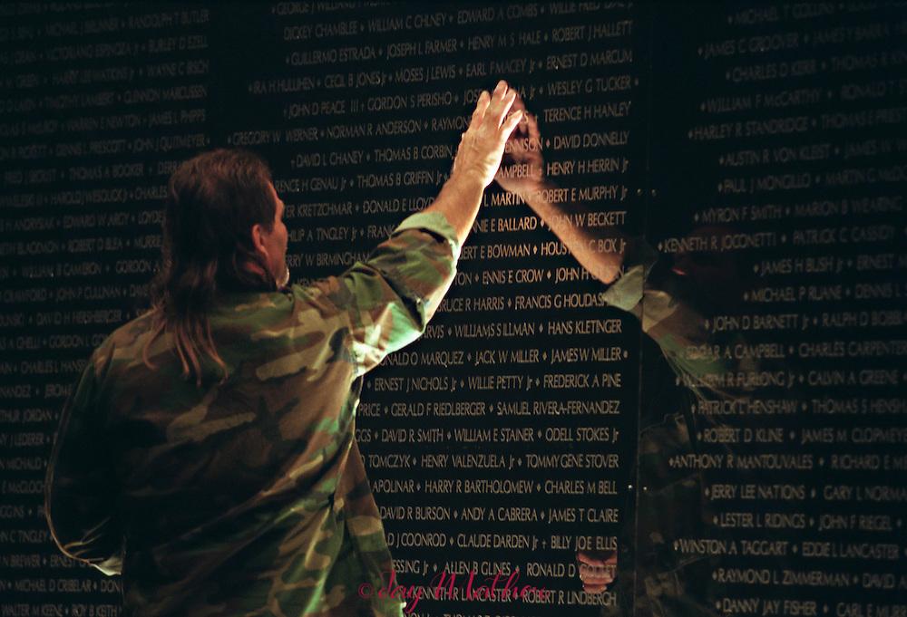 The California Viet Nam Veterans Memorial, dedicated December 10, 1988