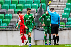 Tomic Tomislav of NK Olimpija Ljubljana during football match between NK Olimpija Ljubljana and NK Aluminij in Round #27 of Prva liga Telekom Slovenije 2018/19, on April 14th, 2019 in Stadium Stozice, Slovenia Photo by Matic Ritonja / Sportida