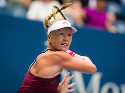 September 1, 2018 - Kiki Bertens of the Netherlands in action during her third-round match at the 2018 US Open Grand Slam tennis tournament. New York, USA. September 01th 2018. (Credit Image: © AFP7 via ZUMA Wire)