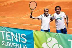 Bojan Glavic, Drzavno prvenstvo novinarjev v tenisu 2019, on June 12, 2019 in Tivoli, Ljubljana, Slovenia. Photo by Vid Ponikvar / Sportida