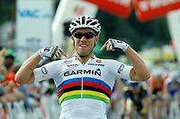 Sykkel<br /> Foto: imago/Digitalsport<br /> NORWAY ONLY<br /> <br /> 14.06.2011 <br /> 2011, Tour de Suisse, tappa 04 Grindelwald - Huttwil, Garmin - Cervelo 2011, Thor Hushovd