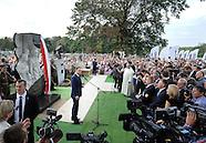 Polish President Andrzej Duda makes remarks at Czestochowa