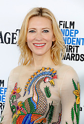 Cate Blanchett at the 2016 Film Independent Spirit Awards held at the Santa Monica Beach in Santa Monica, USA on February 27, 2016. EXPA Pictures © 2016, PhotoCredit: EXPA/ Photoshot/ Lumeimages.com<br />