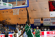 Lawal Shane<br /> Betaland Capo d'Orlando - Sidigas Avellino <br /> Campionato Basket Lega A 2017-18 <br /> Capo d'Orlando 22/04/2018<br /> Foto Ciamillo-Castoria