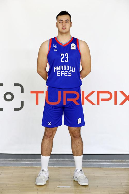 Anadolu Efes's Sevket Gokdemir during the 2020-2021 Garanti BBVA BGL Media Day at the Anadolu Efes Sports Hall on February 02, 2021 in İstanbul, Turkey. Photo by Aykut AKICI/TURKPIX