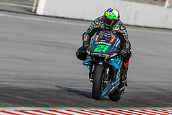 February 6, 2019 - Sepang, SGR, U.S. - SEPANG, SGR - FEBRUARY 06: Franco Morbidelli of Petronas Yamaha SRT in action during the first day of the MotoGP official testing session held at Sepang International Circuit in Sepang, Malaysia. (Photo by Hazrin Yeob Men Shah/Icon Sportswire) (Credit Image: © Hazrin Yeob Men Shah/Icon SMI via ZUMA Press)