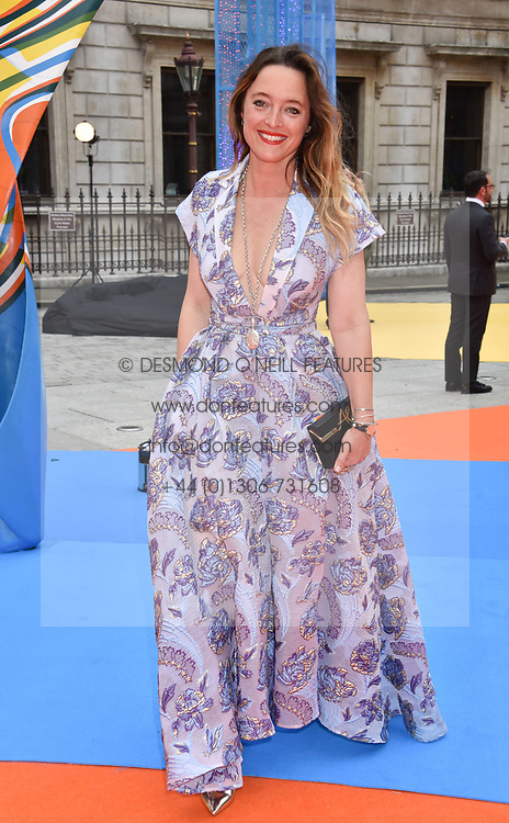 Alice Temperley at the Royal Academy of Arts Summer Exhibition Preview Party 2017, Burlington House, London England. 7 June 2017.