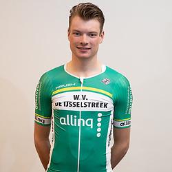 25-02-2020: Wielrennen: Teampresentatie IJsselstreek; Harderwijk. <br /> Bas Ottevanger