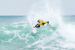 Jul 16, 2017 - Jeffries Bay, South Africa - Current No. 1 on the Jeep Leaderboard Matt Wilkinson of Australia advances to Round Three of the Corona Open J-Bay after defeating wildcard Michael February of South Africa in Heat 2 of Round Two at Supertubes. (Credit Image: © Kelly Cestari/World Surf League via ZUMA Wire)